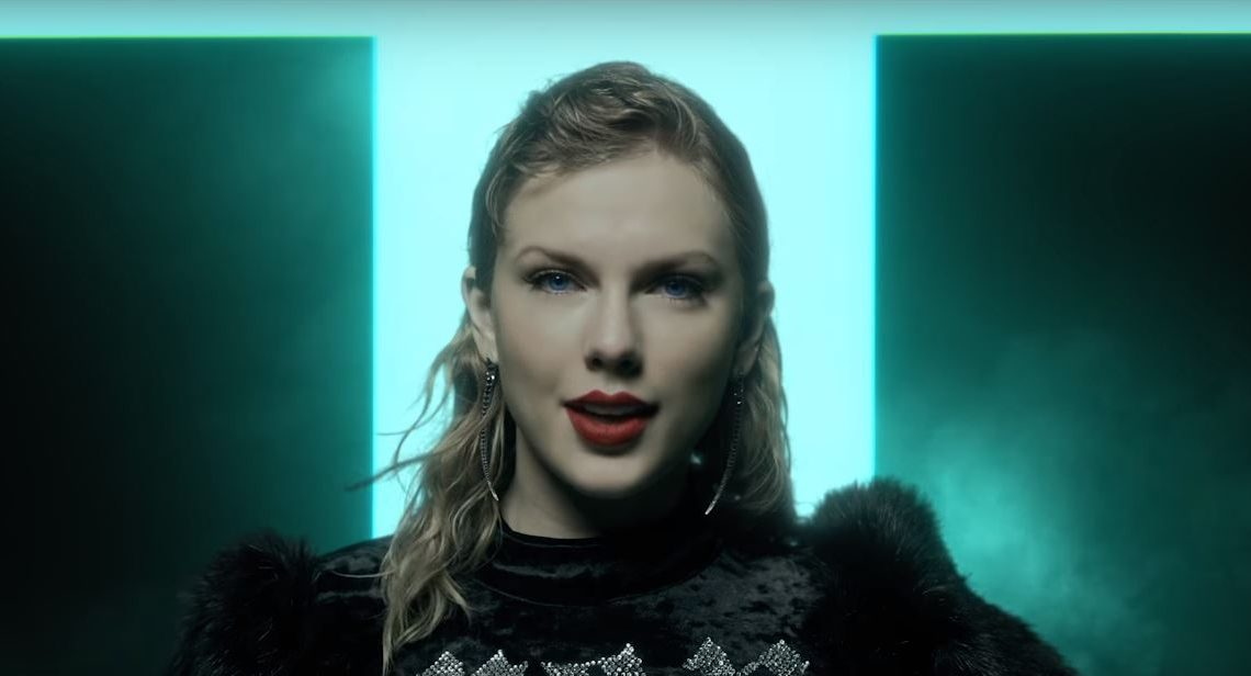 5 album da tenere d'... Taylor Swift Reputation